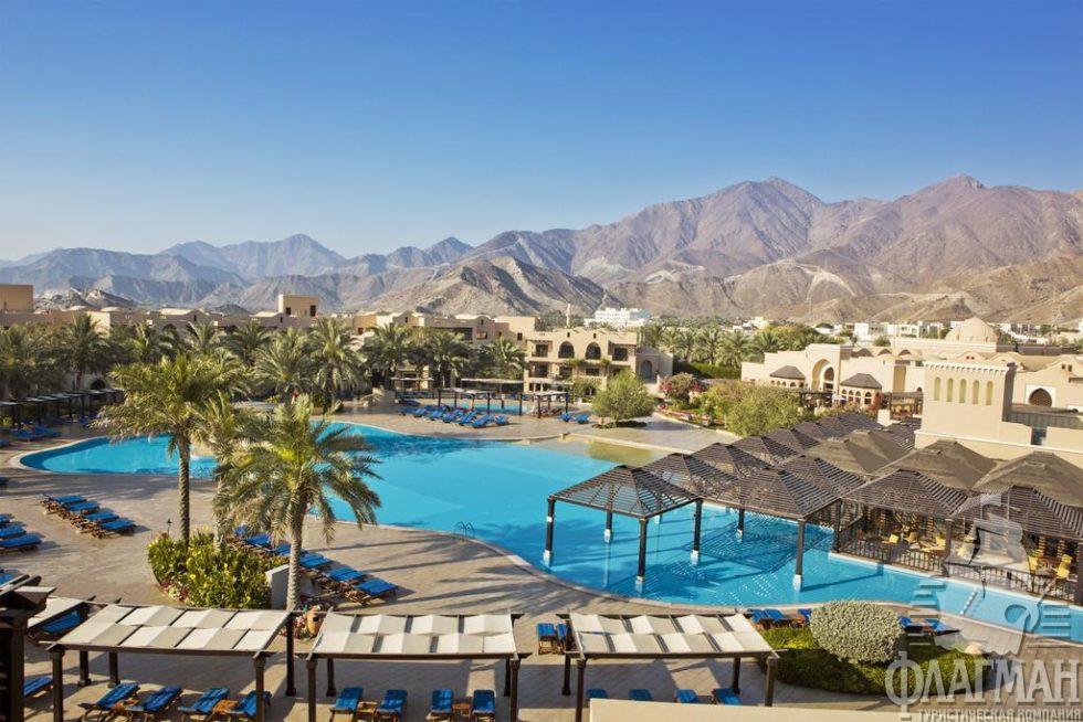 картинка фотография курорта Фуджейра в ОАЭ