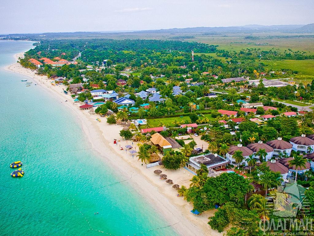 картинка фотография курорта Негрил на Ямайке