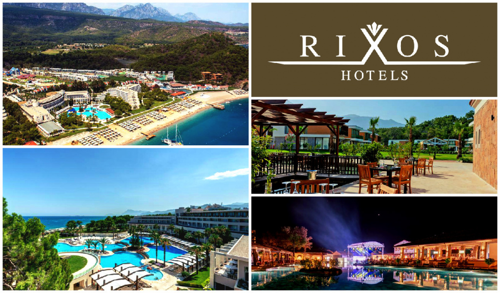 Rixos Premium Tekirova Collage