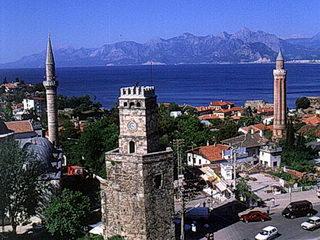Турция, Анталья, старый город башни