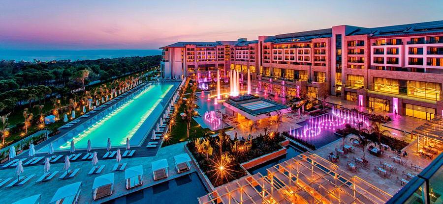 Regnum Carya Golf & Spa Resort 5* - описание отеля, фото, цены на туры.