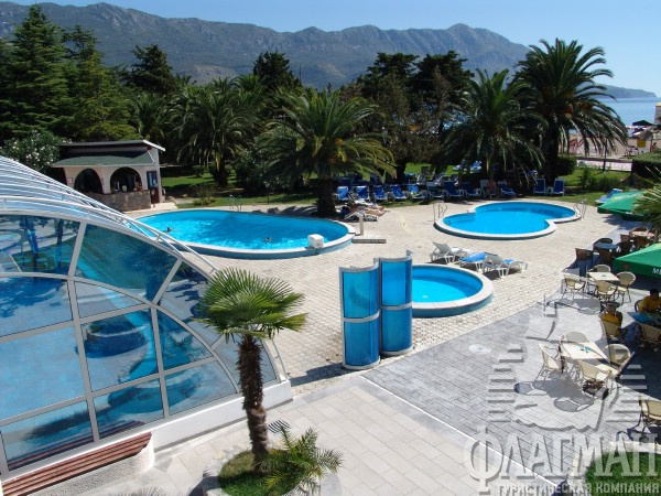 Отель монтенегро 4 черногория