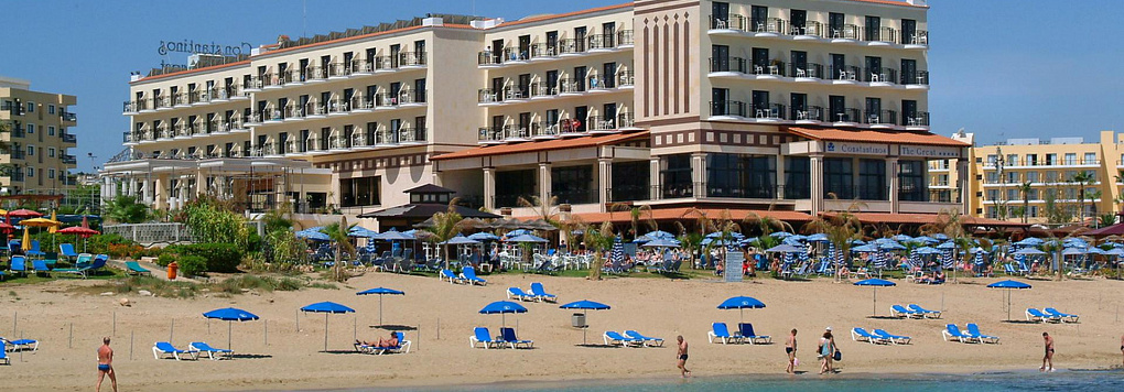 Отель CONSTANTINOS THE GREAT BEACH 5*, Кипр, Протарас.